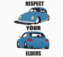 Respect your Elders-Blue Ink by VolkWear