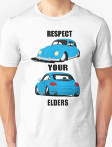 Respect your Elders-Blue Ink T-Shirt