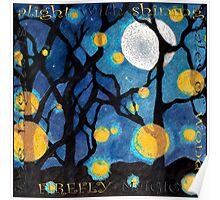 firefly dance Poster
