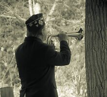 Memorial day service ends with Taps by KSKphotography