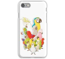 Parrot Party iPhone Case/Skin