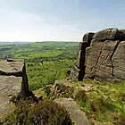 The Derwent Valley From Curbar Edge by Rod Johnson