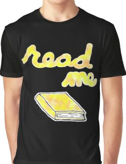 Read Me in Yellow Graphic T-Shirt