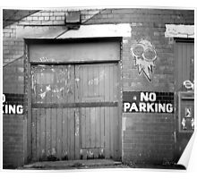 No Parking, Floodgate Street, Birmingham Poster