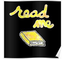 Read Me in Yellow Poster