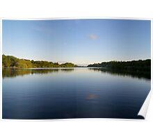 Jumbles Reservoir; Sunshine & Shadows. Poster