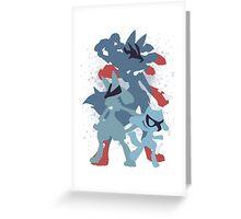 Aura's power Greeting Card