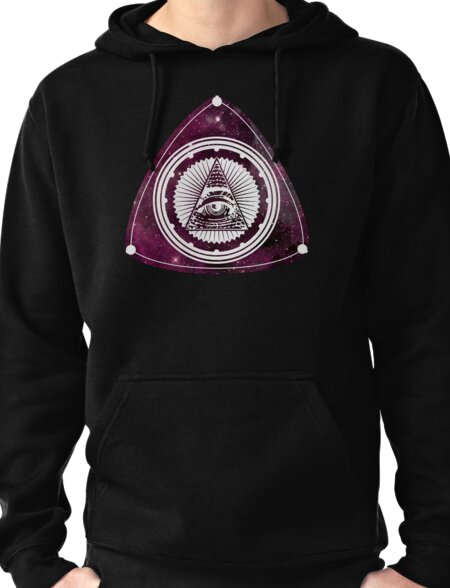 Ill powered -C O S M I C ver. Pullover Hoodie