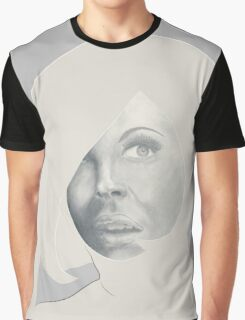 She looks the sixties Graphic T-Shirt