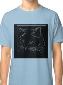 Cat Line - See Through Classic T-Shirt