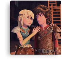 How to Train Your Dragon 16 Canvas Print