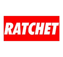 Ratchet Photographic Print