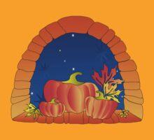 Pumpkin Window by VioDeSign