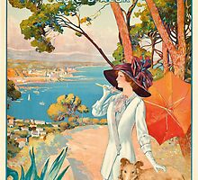 Antibes, Cote d'Azur by Bridgeman Art Library