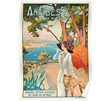Antibes, Cote d'Azur Poster