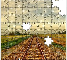 Railroad Jigsaw by Aheroy