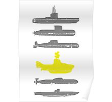 Know Your Submarines Poster