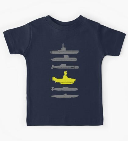 Know Your Submarines Kids Tee