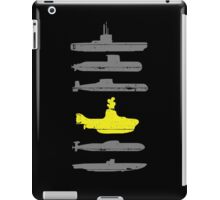 Know Your Submarines iPad Case/Skin