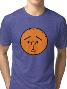 Karl Pilkington - Head like a fucking orange! Tri-blend T-Shirt