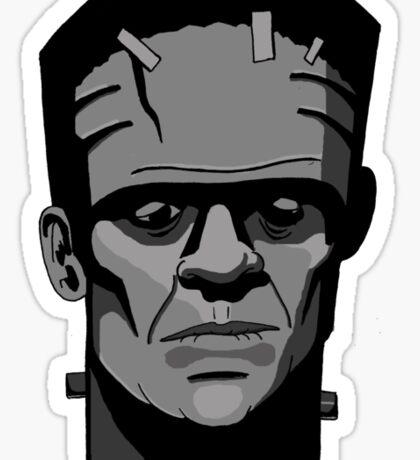 Boris Karloff inspired Frankenstein's Monster Sticker