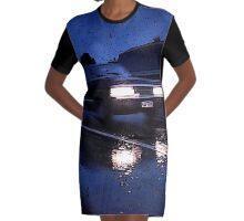 Baby Nightrider Graphic T-Shirt Dress