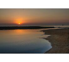 Sunrise over Fuengirola, Andalusia, Spain Photographic Print