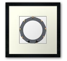 The Stargate Framed Print
