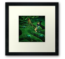 Labyrinth # 5 Framed Print