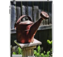 Antique Watering Can Pillow iPad Case/Skin
