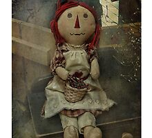 Raggedy Doll Pillow by vigor