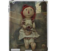 Raggedy Doll Pillow iPad Case/Skin