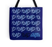 Sherlock Minimalist poster-style Shirts and art-The Hound of Baskerville, S2E2 Tote Bag