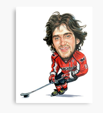 Alex Ovechkin Washington Capitals Metal Print