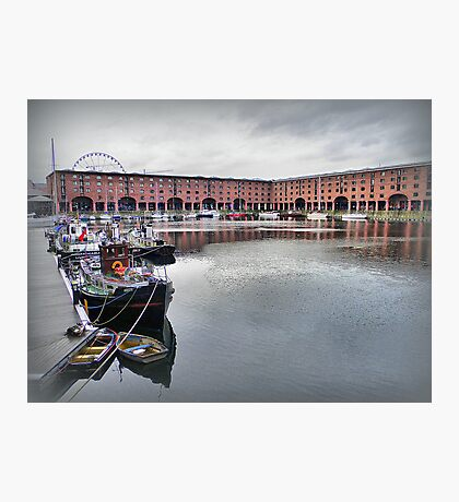 Albert Dock. Photographic Print