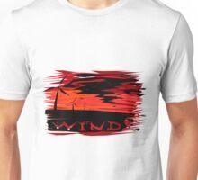 Sunset windmills Unisex T-Shirt