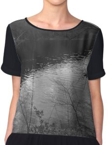 In The Middle Of Nowhere Chiffon Top