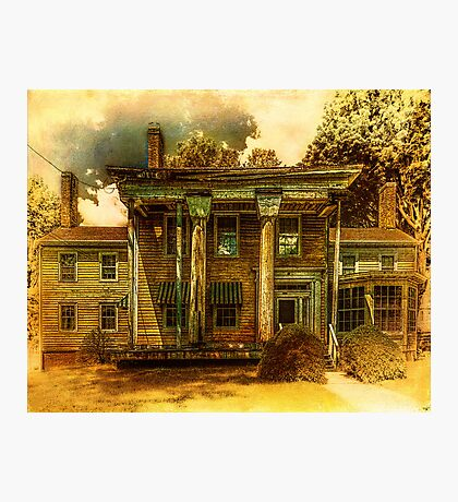 The Greek Revival That Needs Revival Photographic Print