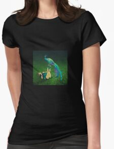 Labyrinth # 6 Womens Fitted T-Shirt