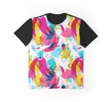 Summer disco shoes abstraction Graphic T-Shirt