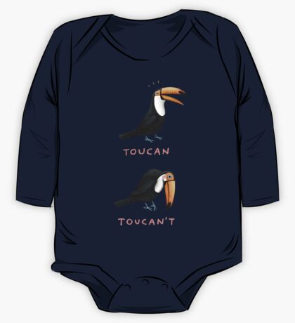 Toucan Toucan't One Piece - Long Sleeve