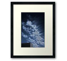 El Camino College Sky Framed Print