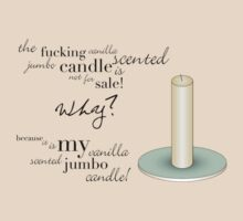 Vanilla scented candle by Little Ripples Neverendingimagination