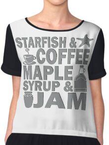STARFISH T SHIRT Chiffon Top