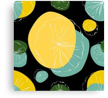 Water Lily Pad Canvas Print