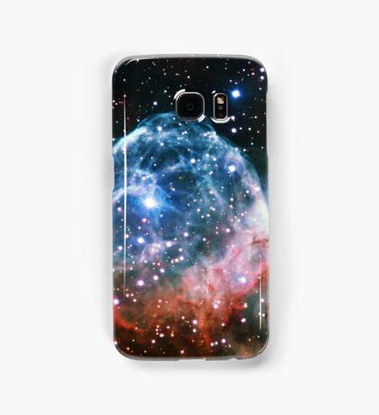 Thor's Head Nebula [Blue Red] | Infinity Symbol | Fresh Universe Samsung Galaxy Case/Skin