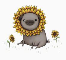 Pugflower Kids Tee