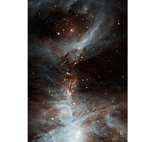Black Galaxy Photographic Print