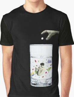 half a cup of coffee, and half a cup of camomile Graphic T-Shirt