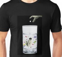 half a cup of coffee, and half a cup of camomile Unisex T-Shirt